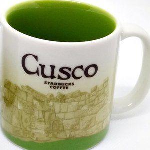 Starbucks Kitchen - 2 Starbucks Demitasse Espresso Cups Peru & Cusco
